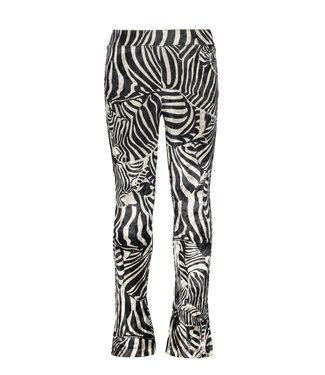 FLO Flared velours F008-5660 zebra
