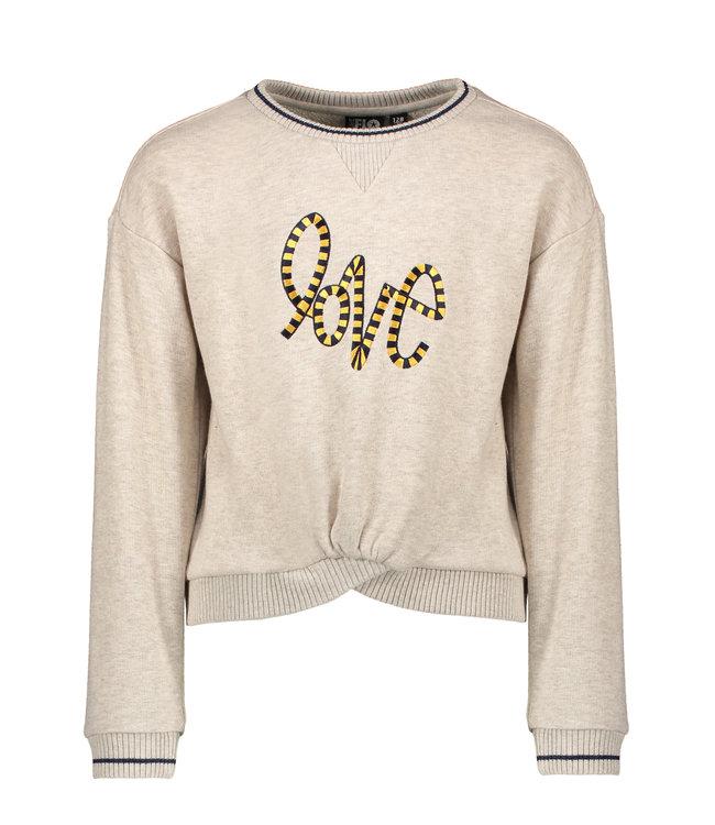 Sweater LOVE F008-5317 oatmeal