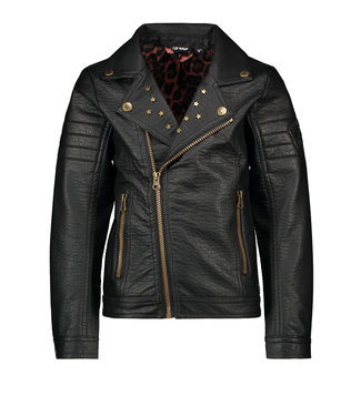 FLO Biker jacket F008-5349 black