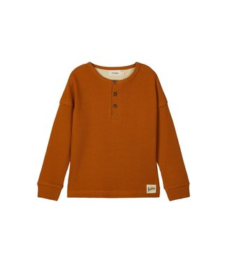 Lil Atelier NMMGABRIEL Longsleeve 13181917 - Cathay Spice