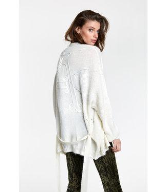 ALIX Oversized cardigan - soft white