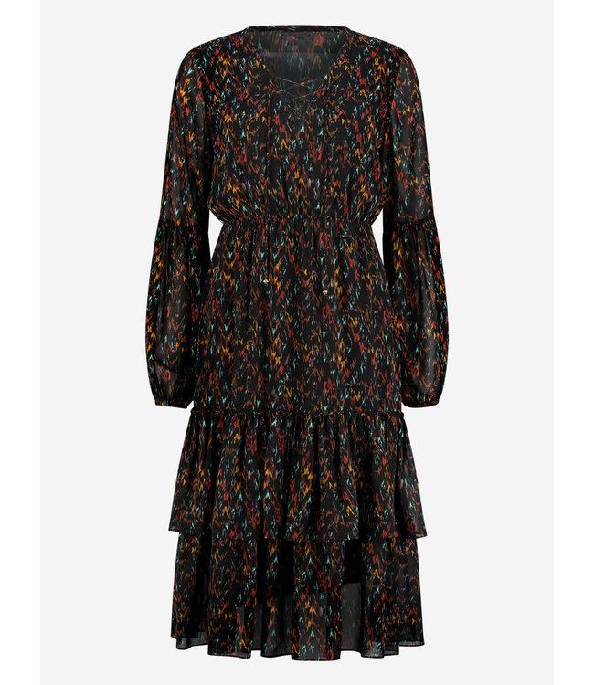 Francy Midi Dress 5290 - black