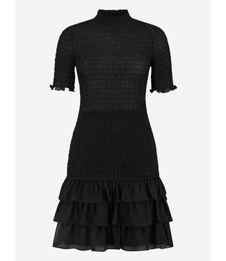 NIKKIE Francy Solid Smock Dress 5296 - black