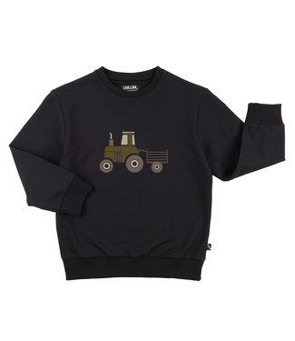 CarlijnQ Tractor sweater TRC173 - black
