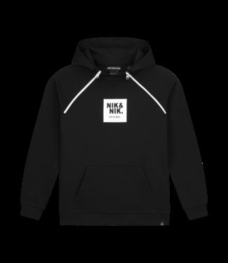 NIK & NIK Maks Hoodie 8024 - black