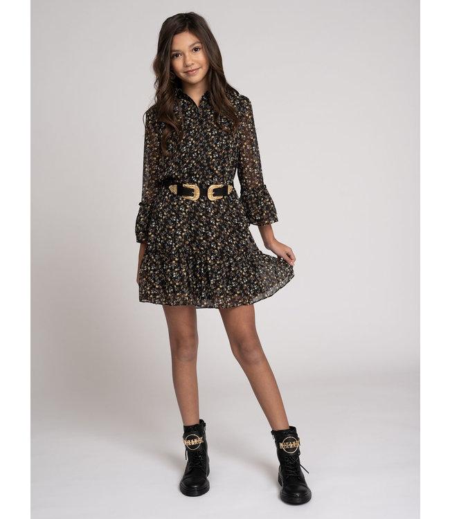 Vaya Flower Dress 5055 - black