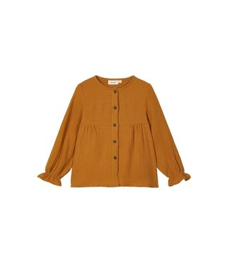 Lil Atelier NMFGARDEN Shirt 13181882 - Cathay Spice