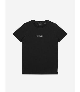 NIK & NIK Subtle T-shirt 8014 - black