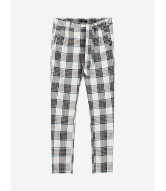 NIK & NIK Veer Check Pants 2071 - offwhite