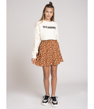 NIK & NIK Cissy Deer Skirt 3067 - deer brown