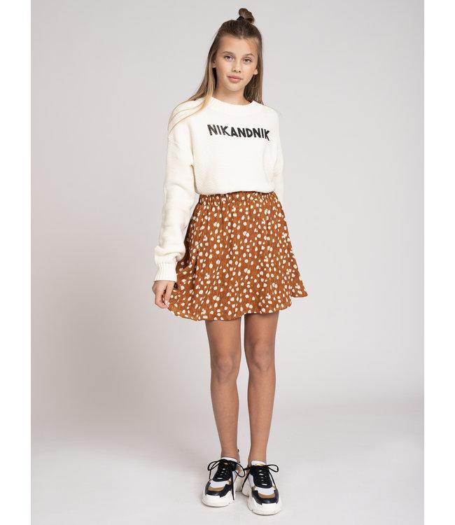 Cissy Deer Skirt 3067 - deer brown