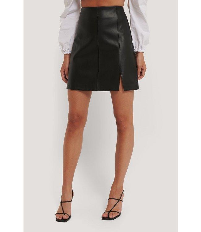 Mini slit skirt 1100-003413 - black