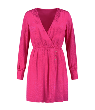 NIKKIE Febe Dress 5449 - lipstick