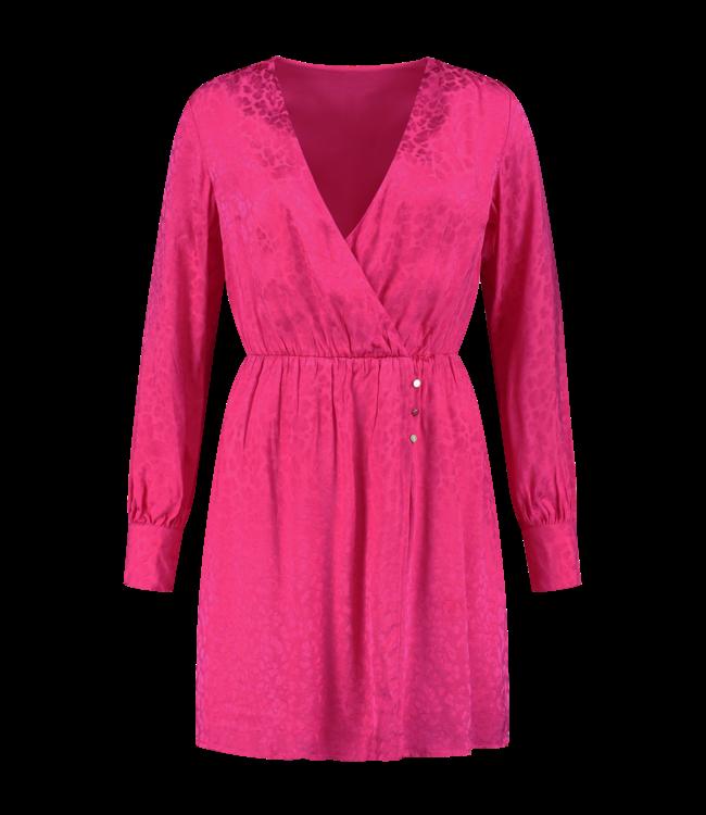Febe Dress 5449 - lipstick