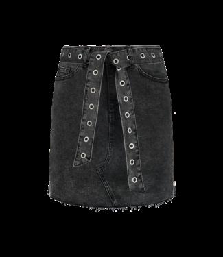 NIKKIE Cailey Denim Skirt 3427 - black
