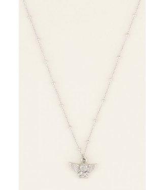 My Jewellery Ketting engeltje - zilver