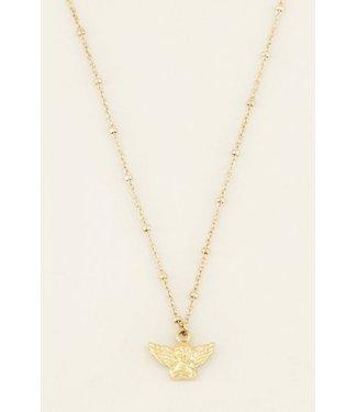 My Jewellery Ketting engeltje - goud