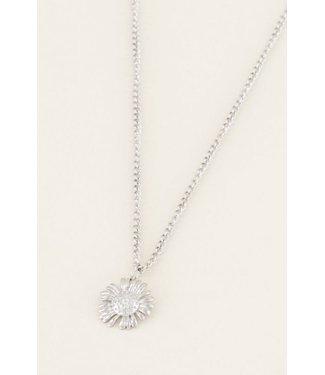My Jewellery Ketting daisy - zilver