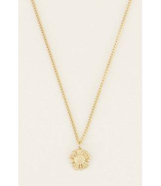My Jewellery Ketting daisy - goud