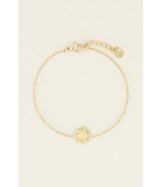 My Jewellery Armband daisy - goud