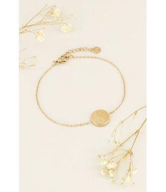 My Jewellery Armband yin yang - goud