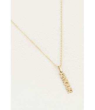 My Jewellery Ketting amour - goud