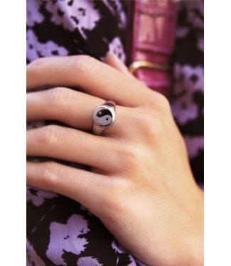 My Jewellery Zegelring yin & yang - silver
