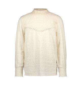 FLO Woven blouse F008-5110 offwhite