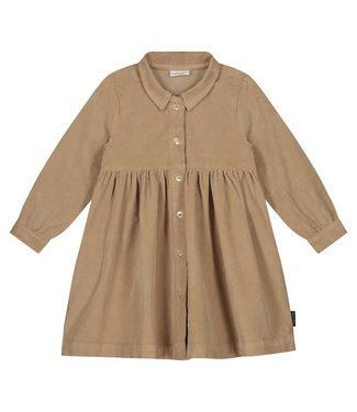 DAILY BRAT Brooke corduroy dress - khaki