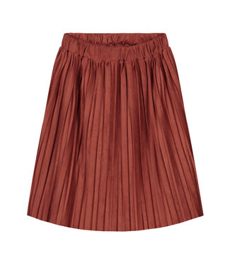 DAILY BRAT Donna plisse skirt - rustic