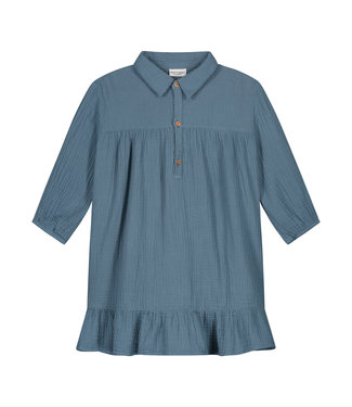 DAILY BRAT Lilyan dress - forest blue