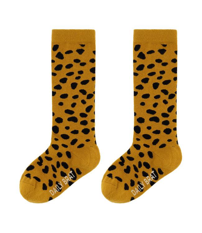Mia knee socks - faded gold