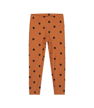 DAILY BRAT Polka pants - Colombia brown