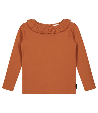 DAILY BRAT Sofia longsleeve - Colombia brown