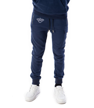 BLACK BANANAS Fleece Jogger - Navy