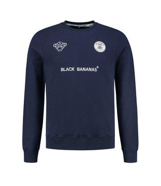 BLACK BANANAS F.c. Crewneck - Navy