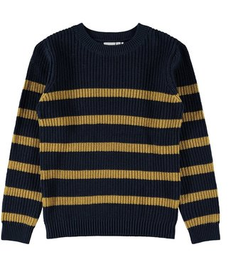 name it NKMROLF knit 13180400 | dark sapphire