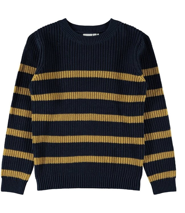 NKMROLF knit 13180400   dark sapphire