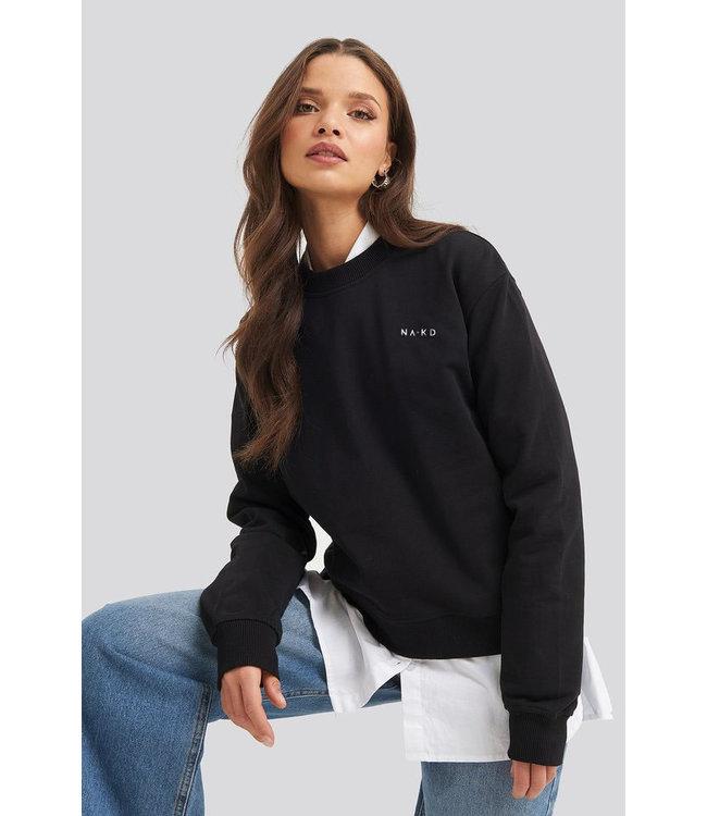 Logo sweater 1044-000118 - black
