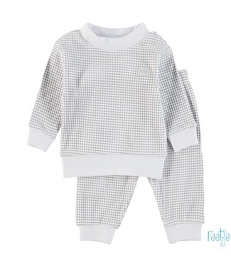 Feetje Wafel pyjama  | grijs