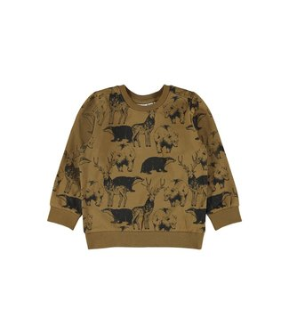 name it NMMOWALTHER Sweater 13191002 - Coffee