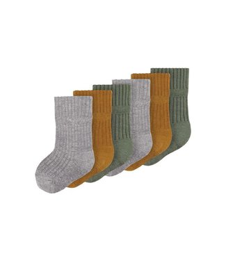 name it NBMNONAS Sock 13185262 | Dark Grey Melange