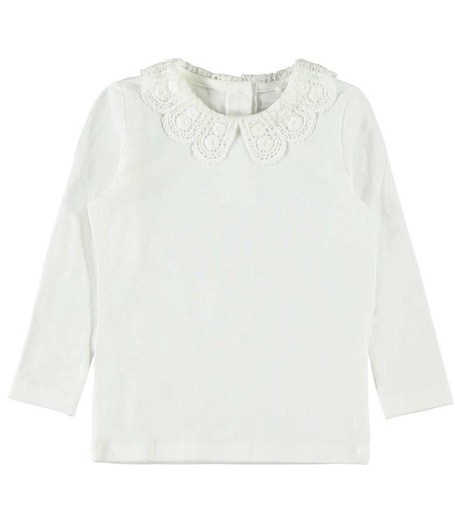NMFROBINNA Longsleeve 13184200 - white