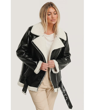 NA-KD Shiny aviator jacket 1018-005352