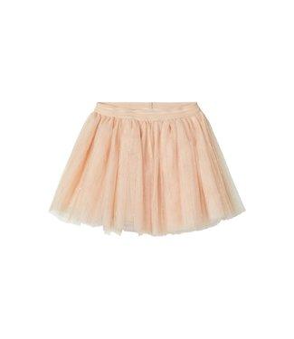 Lil Atelier NMFGILINA Tulle skirt 13181876 - Shifting Sand