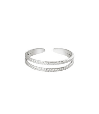 Ring Miraculous - zilver