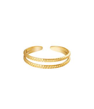 Ring Miraculous - goud