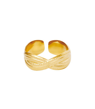 Ring Poppy - goud