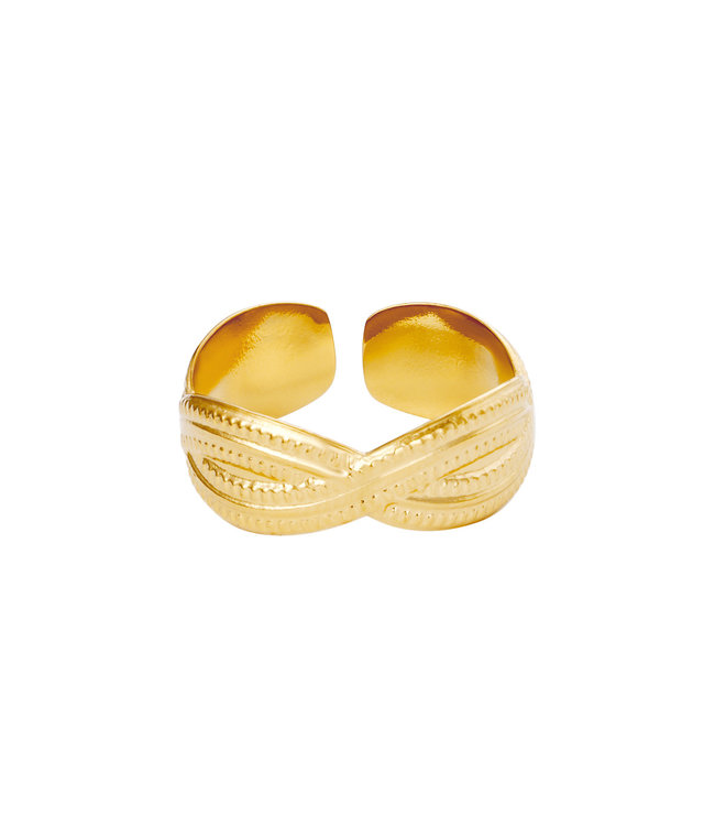 Ring Poppy - goud