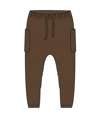name it NMMRYLAN Pants 13191187 - Coffee